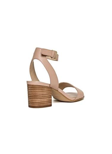 Kalın Topuklu Çiçekli Ayakkabı-Aldo